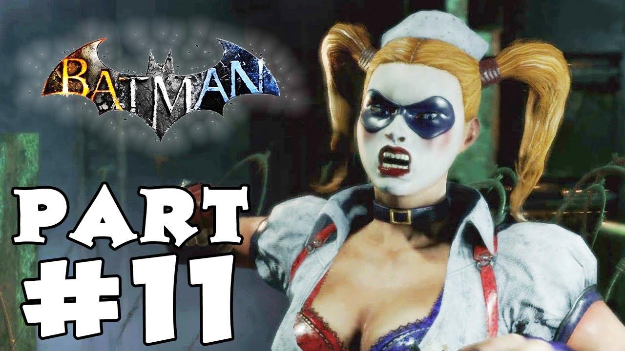 Download Batman Arkham Asylum Gameplay Walkthrough - Part 11 - Harley Quinn Boss!