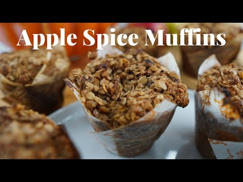 bauer house oatmeal spice muffins