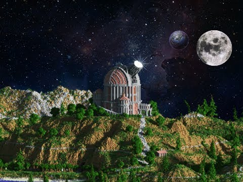 how to build an observatory in minecraft youtube