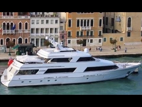 1991, 120' Lloyds Tri-Deck Motor Yacht For Sale