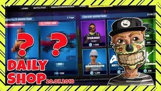 New Wrestling Skins are here ! Fortnite Daily Shop (07/20/18) Reaction