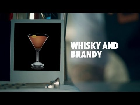 WHISKY AND BRANDY DRINK RECIPE - HOW TO MIX