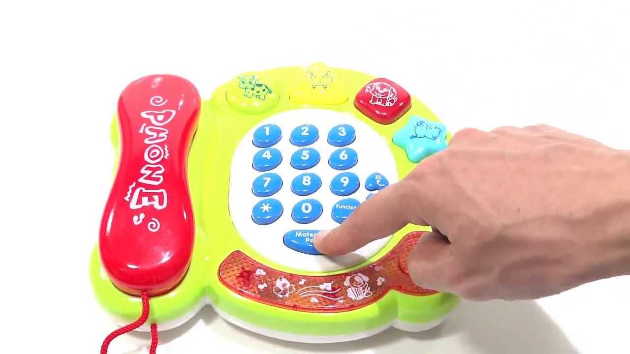 Telefono didactico musical luces y sonidos interactivos - Juguetes nuevos para ninos ...