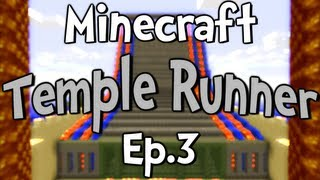 """Minecraft - Temple Runner w/ Clash Ep.3 """" Shot Out of the Wall """""""
