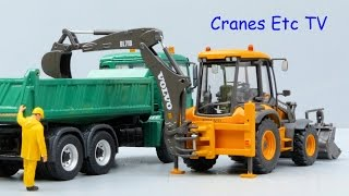 Motorart Volvo BL71B Backhoe Loader by Cranes Etc TV