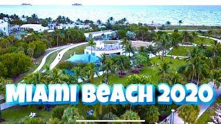 MIAMI BEACH DRONE FOOTAGE DJI MAVIC AIR 2