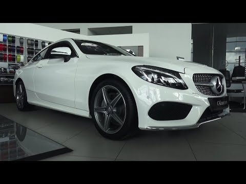 2017 Mercedes-Benz C180 Coupe Sport. Обзор (интерьер, экстерьер, двигатель).