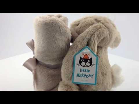 Jellycat Bashful Bunny Blankie Beige