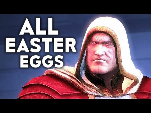 Thumbnail: INJUSTICE 2 ALL Easter Eggs Funny References Easter Egg Shazam Raiden