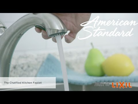 The Chatfield Pull-Out Kitchen Faucet By American Standard