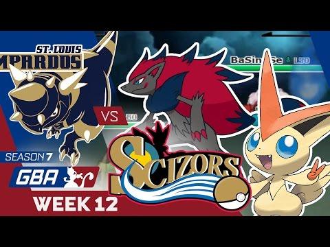 THE END! St. Louis Rampardos VS Philadelphia Scizors Week 12 GBA S7 | Pokemon Sun Moon WiFi
