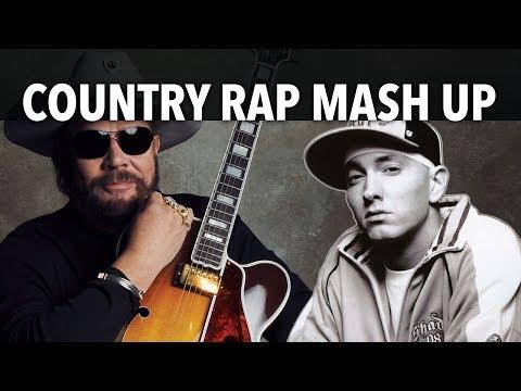 Eminem Vs Hank Williams Jr Country Rap Mash Up Spoof Parody