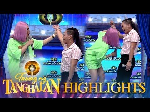 Vice Ganda smells TNT contender Jovy Cris Battung | Tawag ng Tanghalan
