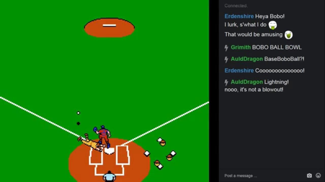 Let's Play Baseball Stars (NES)