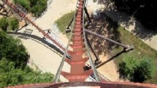 Wildfire Front Seat on-ride HD POV Silver Dollar City