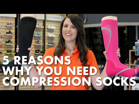 5 Reasons Why You Need Compression Socks | Kintec: Footwear + Orthotics