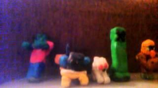Фигурки Minecraft из пластилина(Видео., 2015-11-03T14:04:31.000Z)