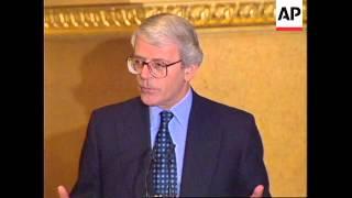 UK: PRIME MINISTER JOHN MAJOR'S EUROPEAN UNION SPEECH