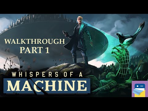 Whispers of a Machine: Walkthrough Part 1 Locker Room - iOS/Android/PC (by Clifftop Games/Raw Fury)