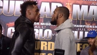 JULIAN WILLIAMS COMES FACE TO FACE WITH JERMALL CHARLO; EAGER TO PROVE IT'S HIS TIME TO SHINE