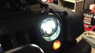 truck lite led headlights vs jw speaker 8700 evolition ii