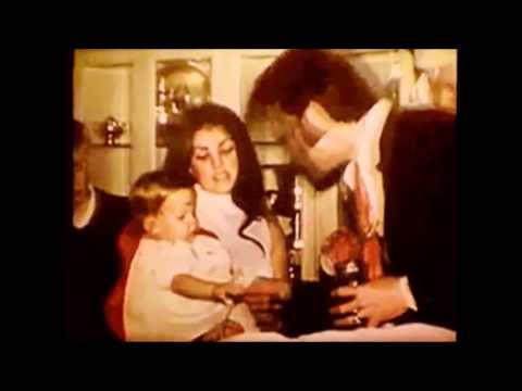 Elvis Presley and Priscilla having fun and scenes of her marriage