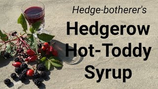 Hedgerow Hot Toddy Syrup
