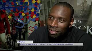 """Cinéma : Omar Sy présentait """"Knock"""" à Saint-Quentin-en-Yvelines"""