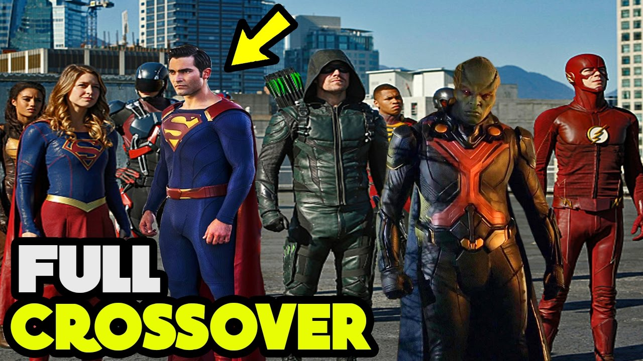 CW's Arrowverse Planning to do a FULL 4 Show Crossover ...