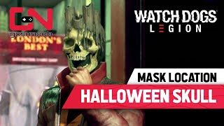 Watch Dogs Legion HALLOWEEN SKULL MASK Location