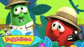 VeggieTales   Monkey Silly Song   Silly Songs With Larry   Kids Cartoon   Kids Videos   Kids Movies