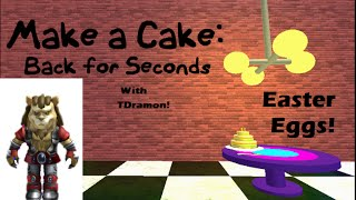 Roblox Make a Cake: Back for Seconds secrets and Easter Eggs! ;D