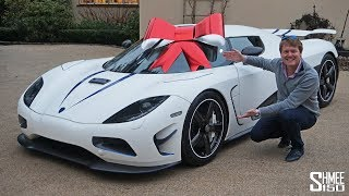 My Friend's Koenigsegg Christmas Present!