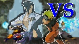 Naruto Vs Sasuke | Bleach Vs Naruto 2.6