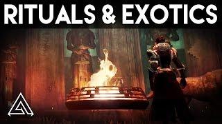 Destiny Rise of Iron Rituals & New Exotics + Iron Banner Update