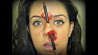 Tutorial Lápis no Nariz - Maquiagem Artística