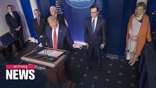 White House, Senate leaders agree on $2 trillion stimulus deal