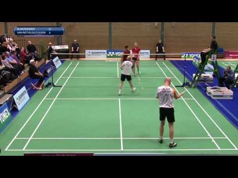 Blair/Bankier v van Reitvelde/Cooper - Yonex Scottish National Championships 2014