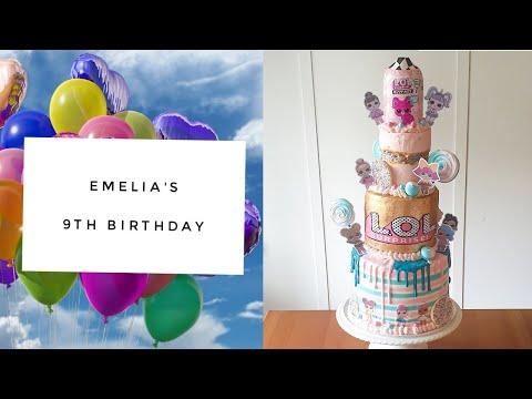 emelia's-9th-birthday