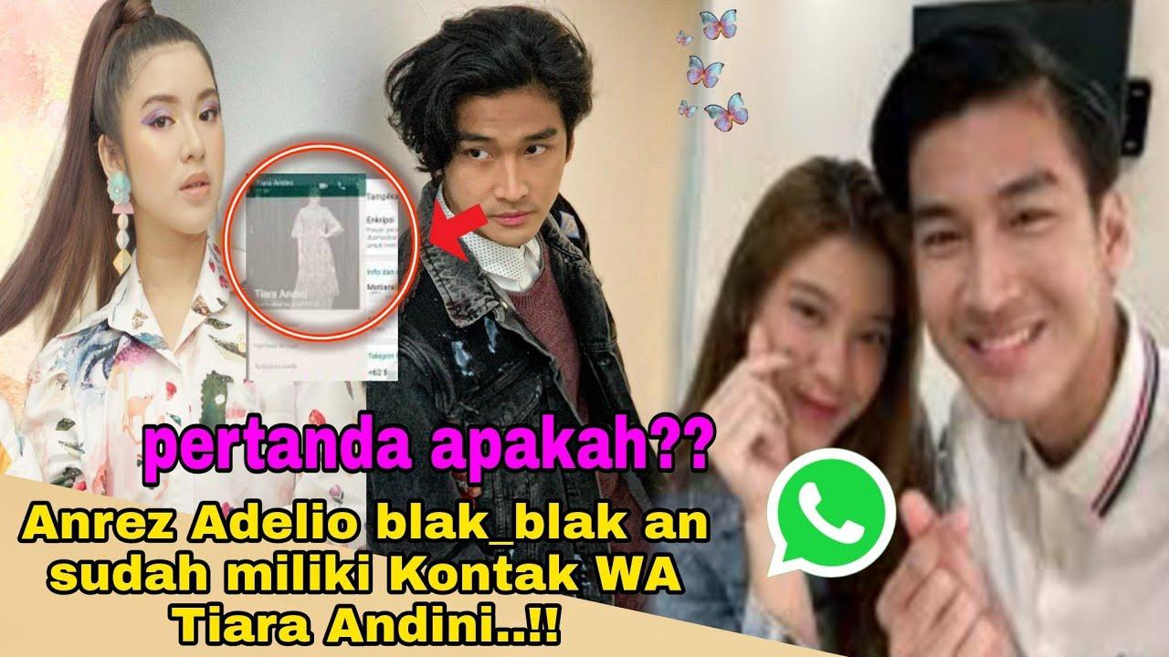 Kabar Bahagia🔥🔥Diam Diam Anrez Adelio telah miliki Kontak WhatsApp Tiara Andini,,ini Faktanya..!!!