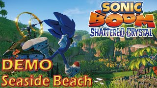 Sonic Boom Shattered Crystal Demo (3DS) - Seaside Beach