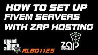 How To Set Up a FiveM Server With ZAP Hosting | Configuration & Resource  Installation