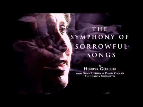 Henryk Górecki Symphony no. 3 - Dawn Upshaw (soprano); David Zinman & London Sinfonietta HD HQ