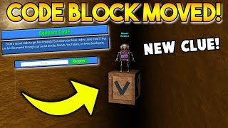 NEW SECRET CODE BLOCK *LOCATION* | Build a boat For Treasure ROBLOX