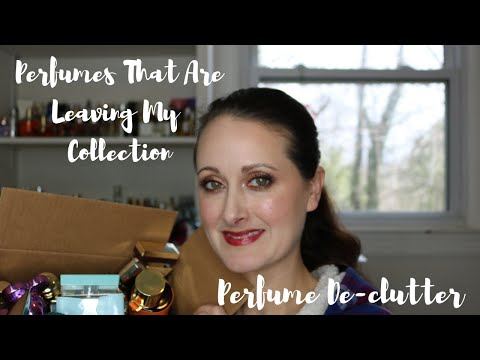 Perfume De-Clutter || Fragrances That Are Leaving My Collection