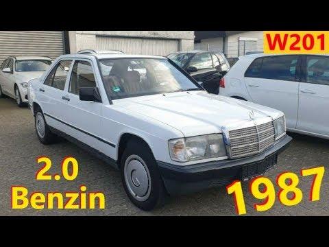 Mercedes Benz 190 W201 2.0 Benzin // Авто в Германии