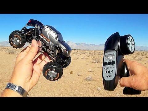 HBX 2098B Devastator Mini Rock Crawler Car Drive Review