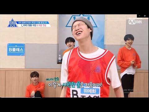 Produce X 101 Funny Moments: Cho Seungyoun & Park Sunho On Fireee