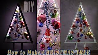 DIY CHRISTMAS TREES | HOW TO MAKE A WOODEN CHRISTMAS TREE $13 …