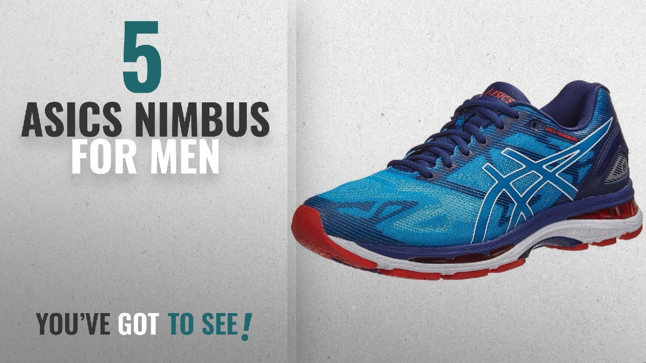 0a400cdfd0f3 Top 10 Asics Nimbus  2018    ASICS Men s Gel-Nimbus 19 Running Shoe ...